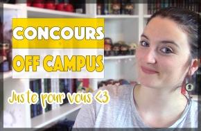 Concours : Trilogie Off Campus!